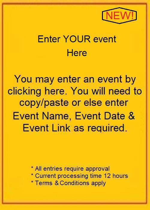 Insert YOUR event!