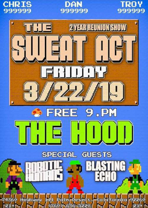 The Sweat Act - Mar 22